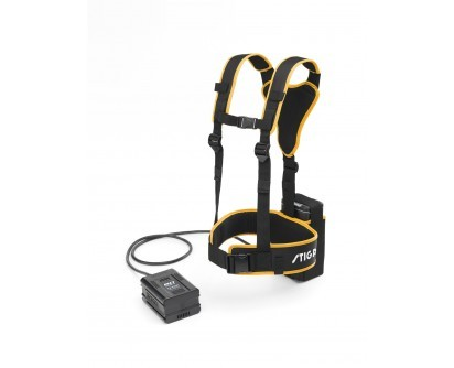 Stiga Battery Harness for use with the 4.0Ah and 5.0Ah 80V batteries