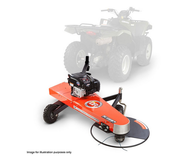DR 7.25 All-Terrain Tow Behind Trimmer