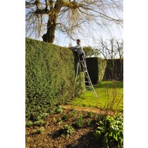 Henchman Platform Tripod Ladder - 1 Adjustable leg 8ft