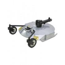 "BCS mulching mower is 80cm (32"")"