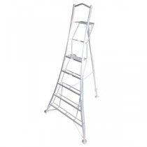 Henchman Standard Duty Tripod 3 Leg Adjustable 8ft Ladder