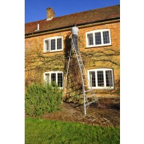 Henchman Platform Tripod Ladder - 1 Adjustable leg 12ft
