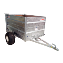 Logic TGT400 High Sided Tipping Trailer