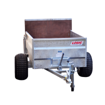 TST400 low-sided tipping ATV trailer