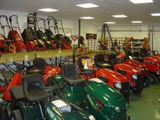 P P Esates Garden Machinery Showroom