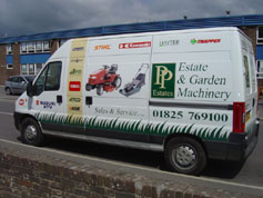 About us pp estates ltd for Gardening tools uckfield